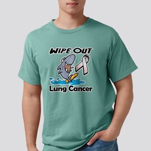 Wipe Out Lung Cancer Mens Comfort Colors Shirt