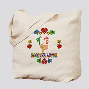 Rooster Lover Tote Bag