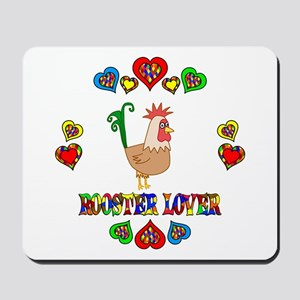 Rooster Lover Mousepad