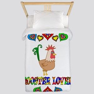 Rooster Lover Twin Duvet