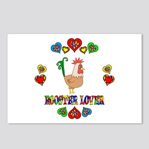 Rooster Lover Postcards (Package of 8)