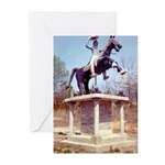 Andrew Jackson on Horseback Greeting Cards (Packag
