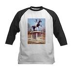 Andrew Jackson on Horseback Kids Baseball Jersey