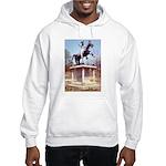 Andrew Jackson on Horseback Hooded Sweatshirt