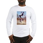 Andrew Jackson on Horseback Long Sleeve T-Shirt