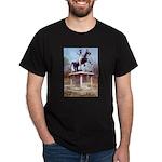 Andrew Jackson on Horseback Dark T-Shirt