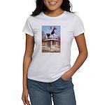 Andrew Jackson on Horseback Women's T-Shirt