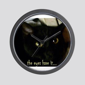Eyes have it Wall Clock