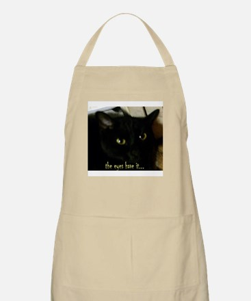 Eyes have it BBQ Apron