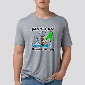Wipe Out Muscular Dystrophy Mens Tri-blend T-Shirt