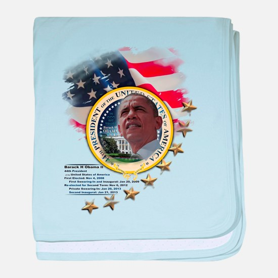 44th President: baby blanket
