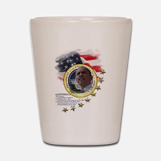44th President: Shot Glass