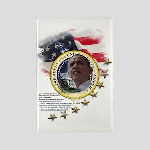 44th President: Rectangle Magnet