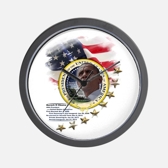 44th President: Wall Clock