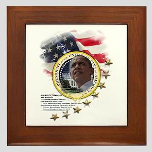 44th President: Framed Tile