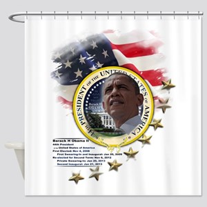 44th President: Shower Curtain