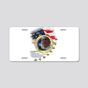 44th President: Aluminum License Plate