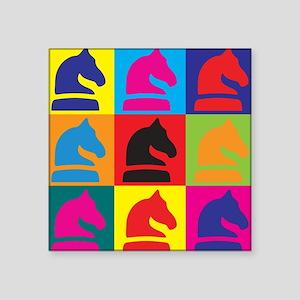 Chess Pop Art Sticker
