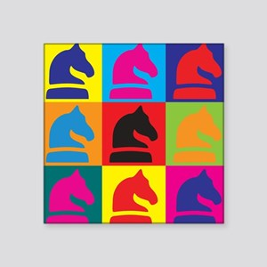 Chess Pop Art Sticker