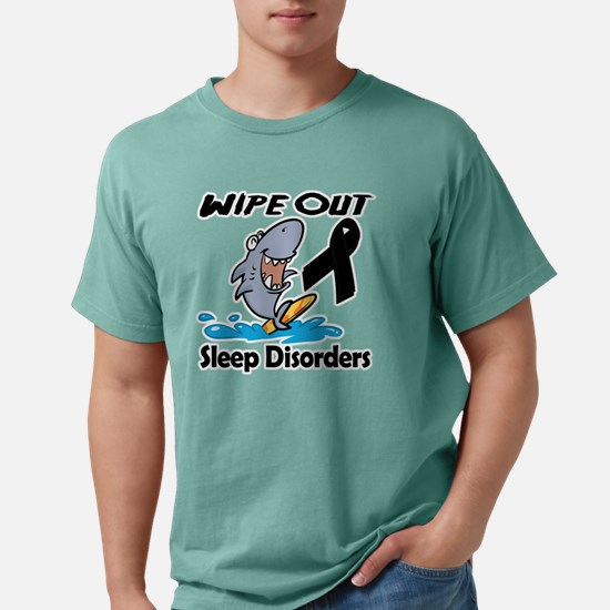 Wipe Out Sleep Disorders Mens Comfort Colors Shirt