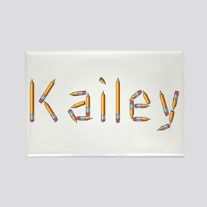Kailey Pencils Rectangle Magnet