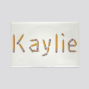 Kaylie Pencils Rectangle Magnet