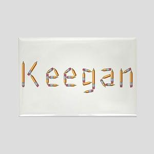 Keegan Pencils Rectangle Magnet