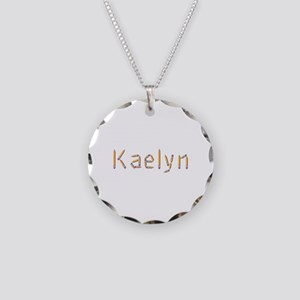 Kaelyn Pencils Necklace Circle Charm