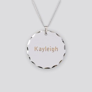 Kayleigh Pencils Necklace Circle Charm