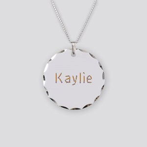 Kaylie Pencils Necklace Circle Charm