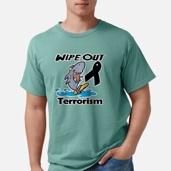 Wipe Out Terrorism.png Mens Comfort Colors Shirt