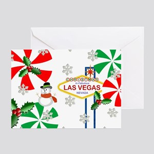 LV Peppermint Candies Greeting Cards (Pk of 20)