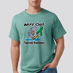 Wipe Out Traumatic Brain Mens Comfort Colors Shirt