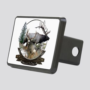 Big Game elk and deer Rectangular Hitch Cover