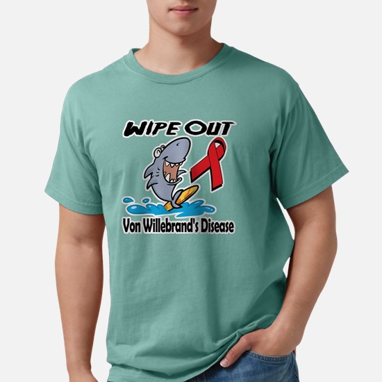 Wipe Out Von Willebrands Mens Comfort Colors Shirt