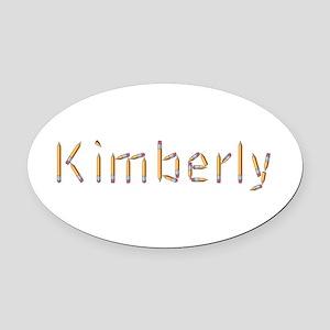 Kimberly Pencils Oval Car Magnet