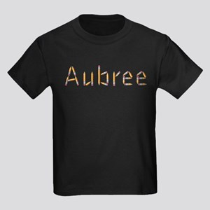 Aubree Pencils Kids Dark T-Shirt