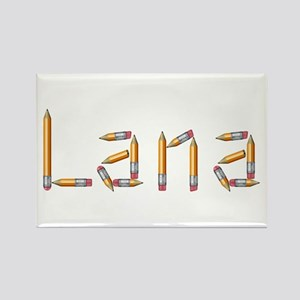 Lana Pencils Rectangle Magnet