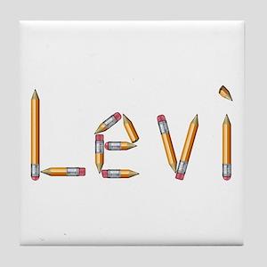 Levi Pencils Tile Coaster