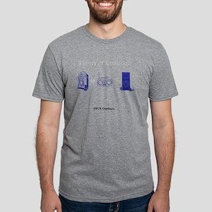 evolution of music Mens Tri-blend T-Shirt