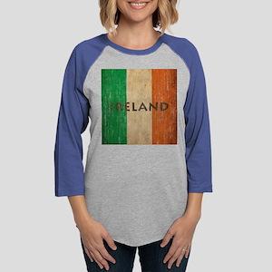 Vintage Ireland Womens Baseball Tee