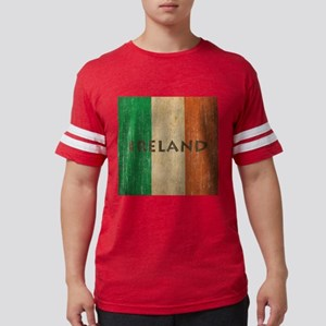 Vintage Ireland Mens Football Shirt