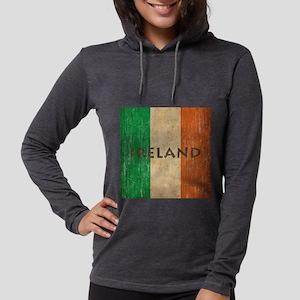 Vintage Ireland Womens Hooded Shirt