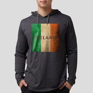 Vintage Ireland Mens Hooded Shirt