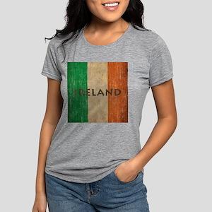 Vintage Ireland Womens Tri-blend T-Shirt