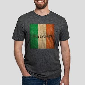 Vintage Ireland Mens Tri-blend T-Shirt