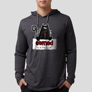 owned black cat shirt Mens Hooded Shirt