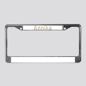 Annika Pencils License Plate Frame