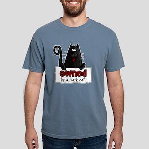 owned black cat shirt.pn Mens Comfort Colors Shirt