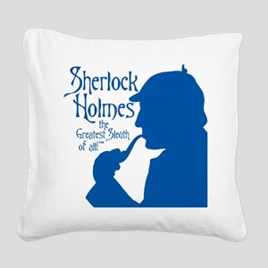 $24.99 Greatest Sleuth of All Square Canvas Pillow